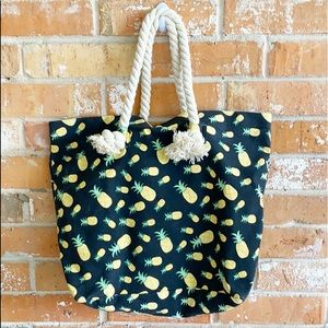 ▪️PINEAPPLE ▪️XL Canvas Tote